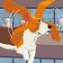 「飛ぶ犬」